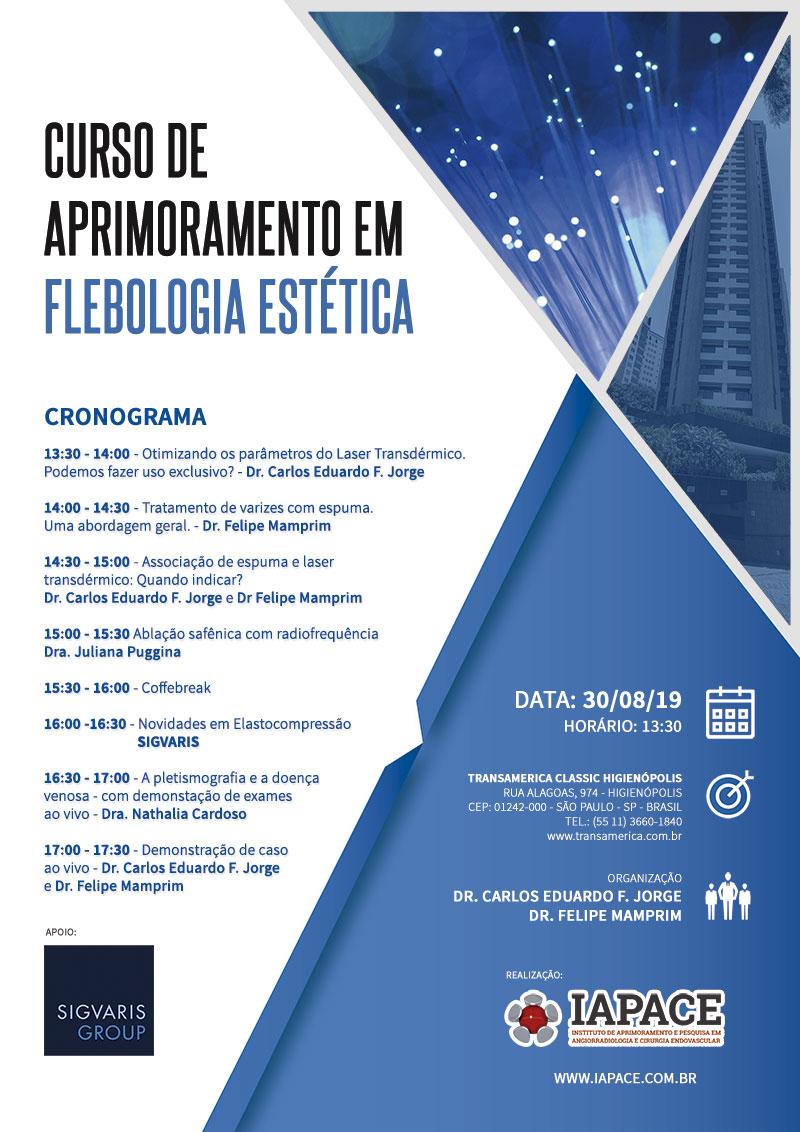 Curso de Aprimoramento em Flebologia Estética
